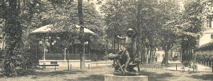 Square Violet is one of Parcs, jardins et squares - Paris.