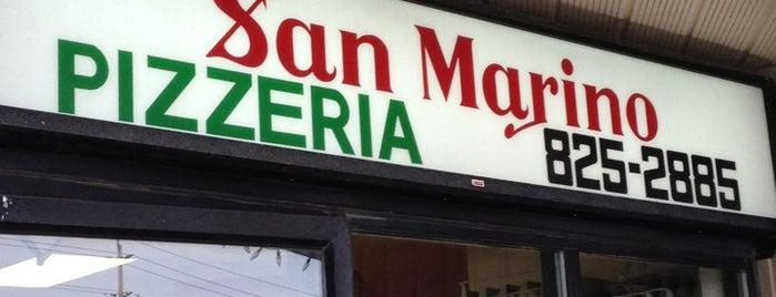 San Marino Pizzeria is one of Favourite Ottawa Restaurants.