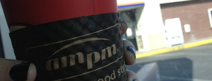 AMPM is one of DailyCheckinMayor.