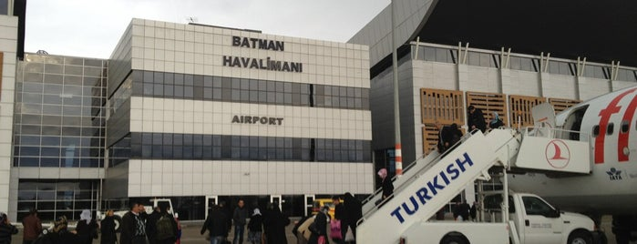 Batman Airport (BAL) is one of Airports in Turkey.