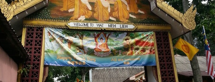 WAT MEH LIEW Thai Buddhist Temple is one of malaysia/KL.