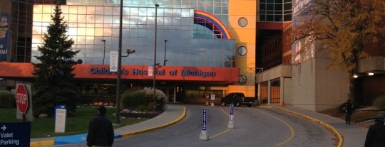 Children's Hospital of Michigan is one of Favorite Places.