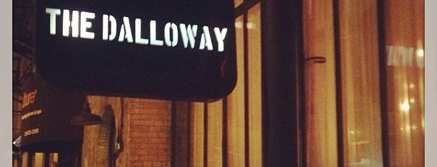 The Dalloway is one of Secret Bars.