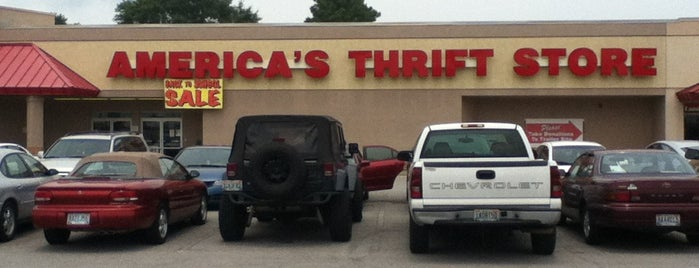 America's Thrift Store is one of $ Saving Spots.