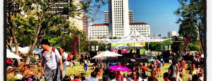 Grand Park is one of 100 Cheap Date Ideas in LA.