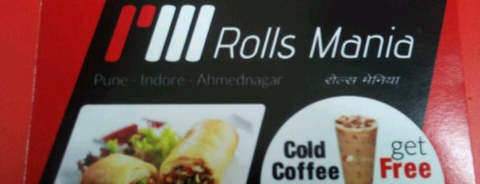 Rolls Mania is one of Indori chatore.