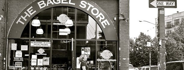 The Bagel Store is one of Favorite Restaurant in NYC PT.2.