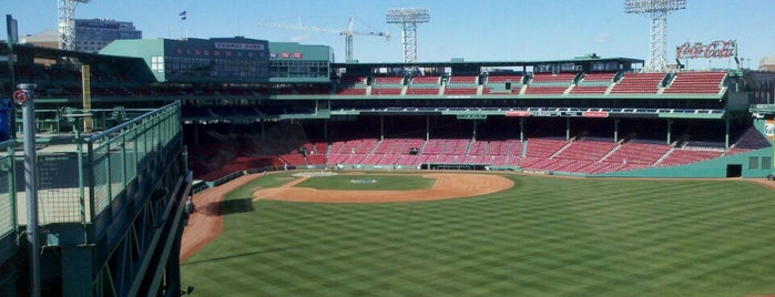 Fenway Park is one of MLB parks.