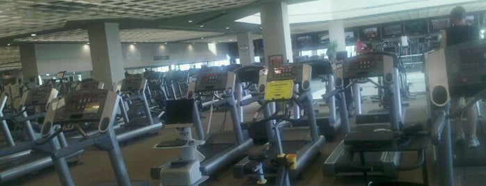 Life Time Fitness is one of i see hot people.