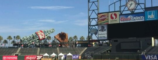 AT&T Park is one of Baseball.