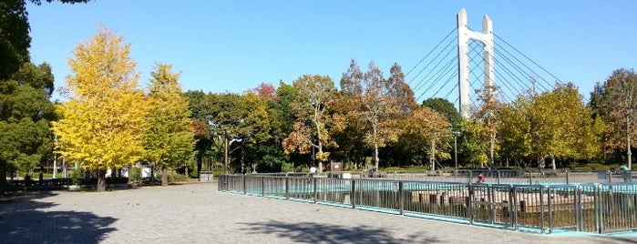 Kiba Park is one of 公園.