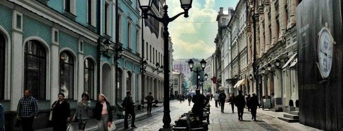 Столешников переулок is one of Раз.