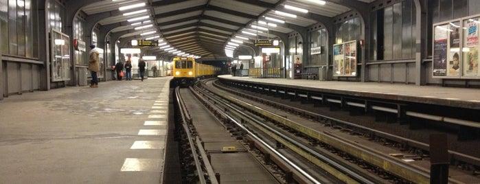 U Möckernbrücke is one of Besuchte Berliner Bahnhöfe.