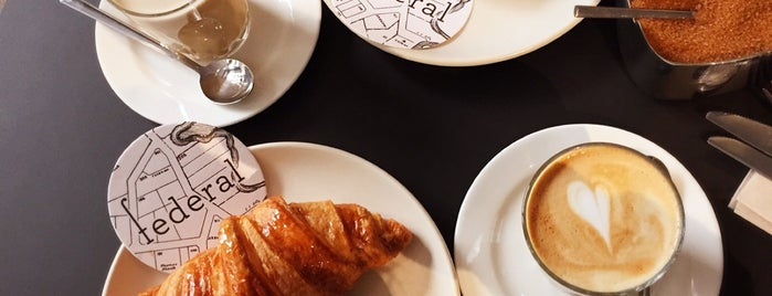 Federal Café Gòtic is one of Breakfast and nice cafes in Barcelona.