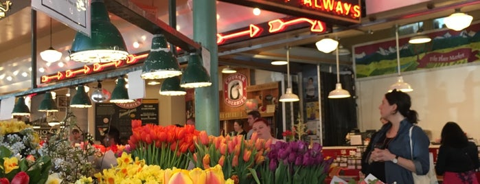 Pike Place Market is one of America's Freshest Farmers Markets.