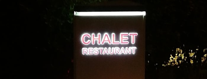 Chalet is one of Şehri İstanbul.