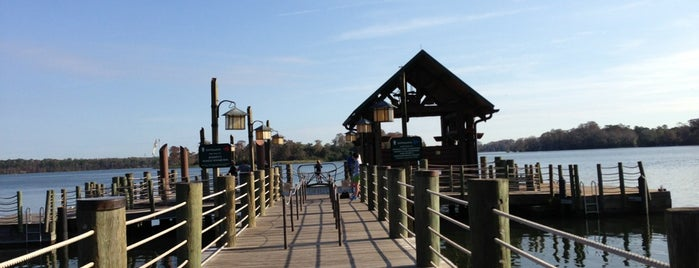 Wilderness Lodge Boat Dock is one of Disney world.