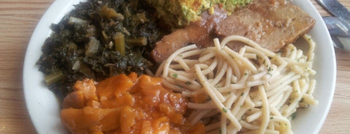 Soul Vegetarian East is one of Gluten-Free Dining Options.