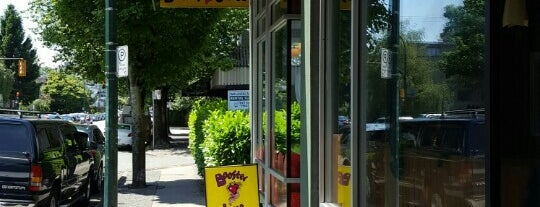 Booster Juice is one of Tidbits Vancouver 2.