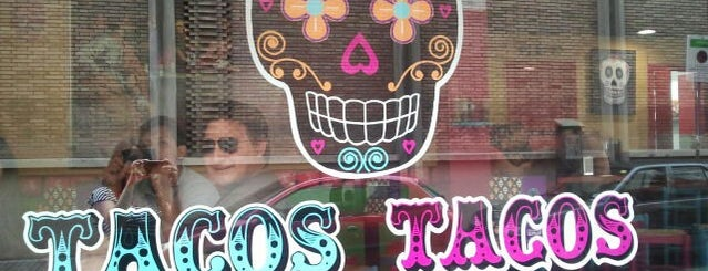 Tacos Tacos is one of Cheap Eats Barcelona 5-10€.