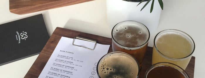 33 Acres Brewing Company is one of Travel Guide to Vancouver.