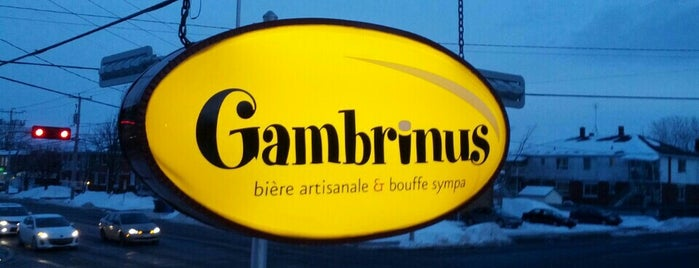 Gambrinus - Brasserie Artisanale is one of Microbrasseries Québec.