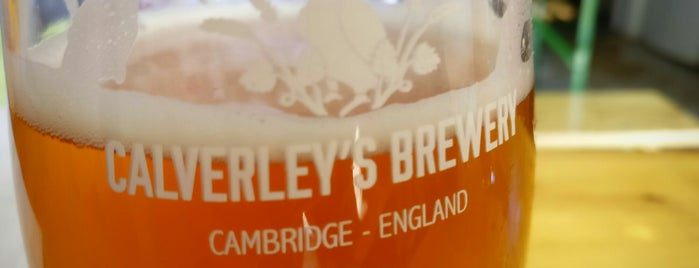 Calverley's Brewery is one of Pubs - Brewpubs & Breweries.