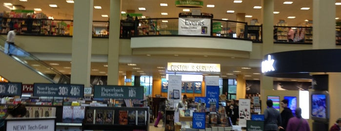 Barnes & Noble is one of Libraries and Bookshops.