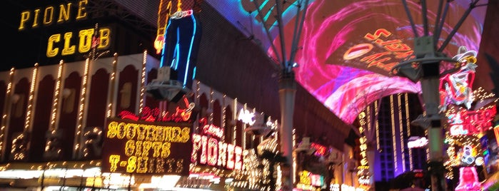 Fremont Street Experience is one of Vegas.