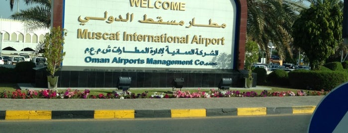 Muscat International Airport (MCT) is one of Airports.