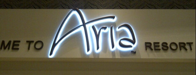 ARIA Resort & Casino is one of Hoteles visitados.