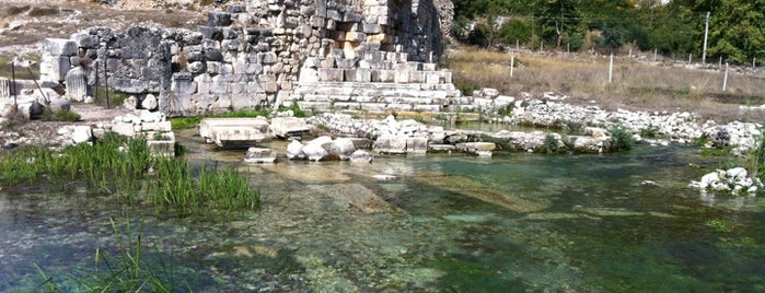 Limyra Antik Kenti is one of Historical Places in Antalya - Ören Yerleri.