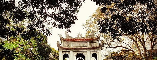 Temple of Literature is one of hanoi.