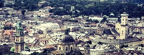 Высокий замок is one of Lviv.