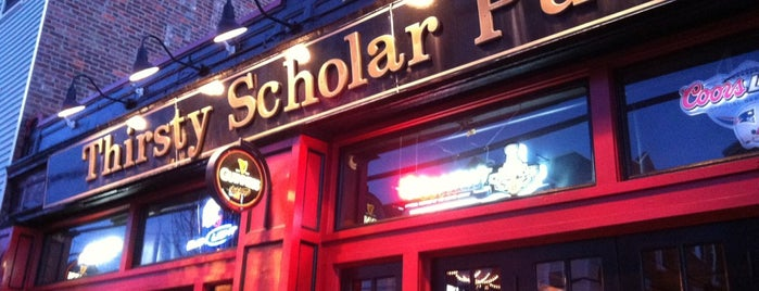 Thirsty Scholar Pub is one of Bars and Restaurants in Boston.