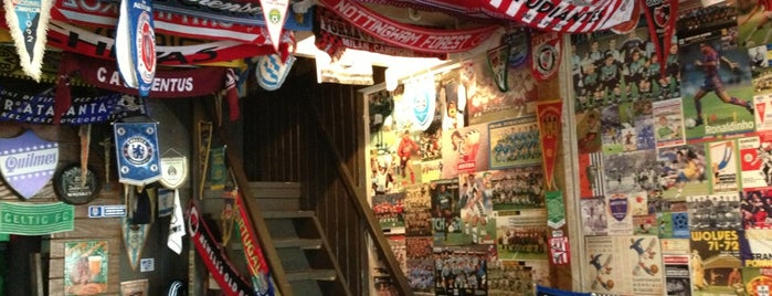 Brechó do Futebol is one of Nightlife & Pubs.