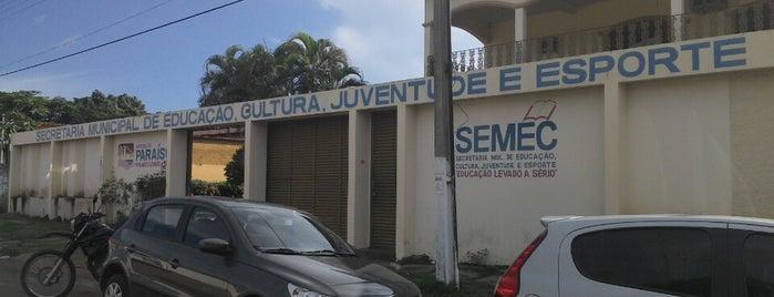 Semec - Secretaria Municipal de Educação, Cultura, Juventude e Esporte is one of Educação em Paraíso do Tocantins.