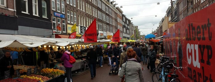 Albert Cuyp Markt is one of Amsterdam Expat Life: Mission list.