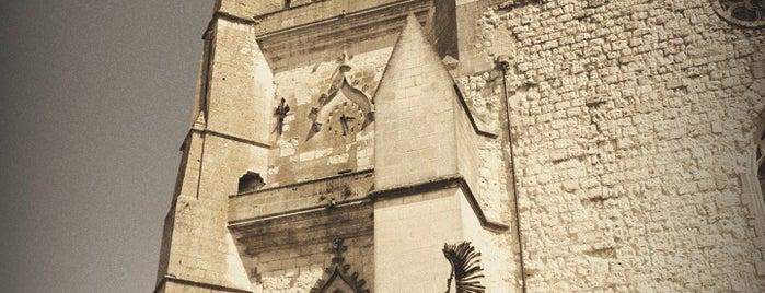 Cathédrale St Gervais et St Protais is one of Les chemins de Compostelle.