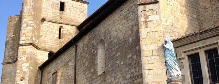 Eglise De Miradoux is one of Les chemins de Compostelle.