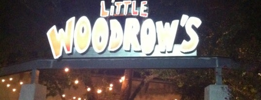 Little Woodrow's is one of Austin.
