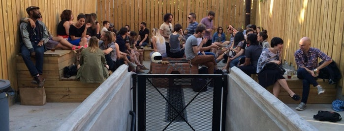 Left Hand Path is one of The 15 Best Places for a Backyard in Brooklyn.