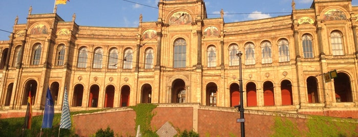 Bayerischer Landtag is one of Sehenswürdigkeiten München.