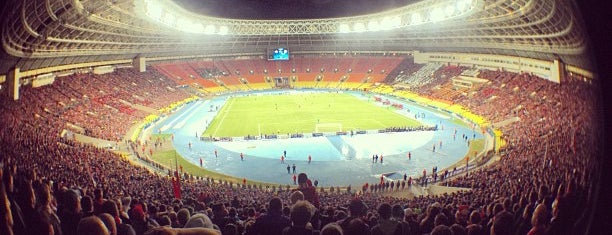 Luzhniki Stadium is one of Moscow New Wave.