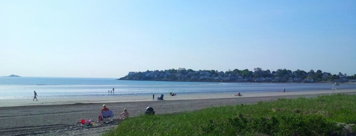 """Nahant Beach is one of To the Sea By """"T""""."""