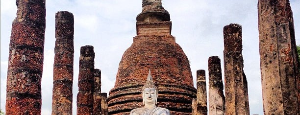 Historic Town of Sukhothai is one of UNESCO World Heritage Sites (Asia).