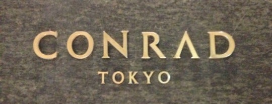 Conrad Tokyo is one of Letty's list.