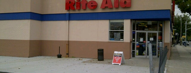 Rite Aid is one of my places.