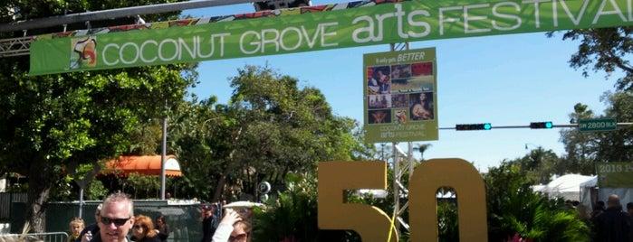 Coconut Grove Arts Festival is one of Miami.