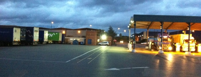 Whitwood Truck Stop is one of Truckstops And Other Places To Park Overnight.